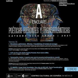 ENCLAVE 2021, Poéticas bifrontes y transatlánticas